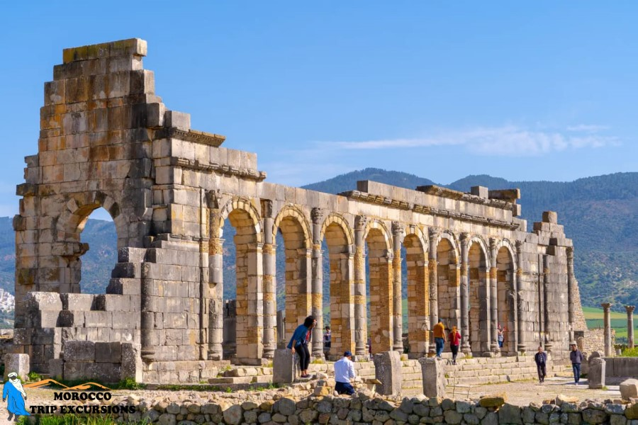 Day trip to volubilis