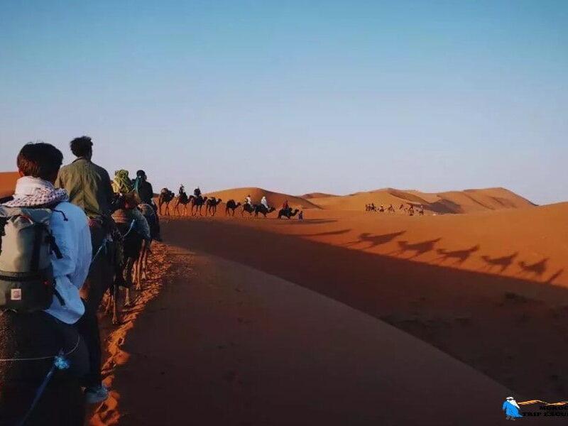 Ruta de 4 días desde Marrakech al desierto de Merzouga