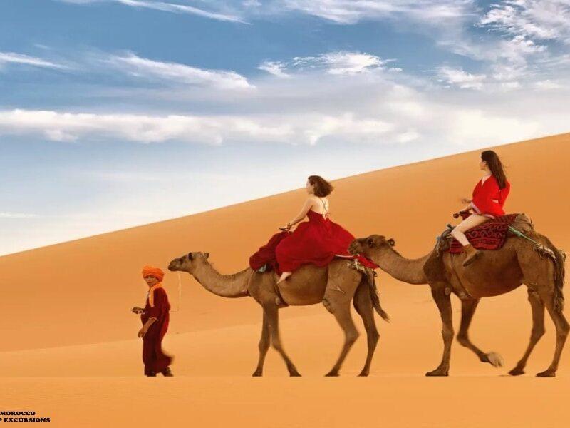 Ruta de 3 días desde Marrakech a Fez por el desierto